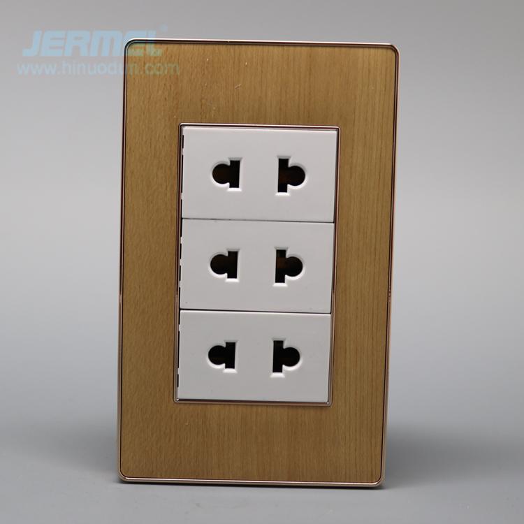 118PA-3W14 Egypt wall light switch socket